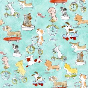 Adventure Awaits Dogs - © Lucinda Wei