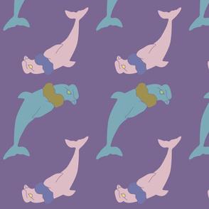 Condolphin in Purple