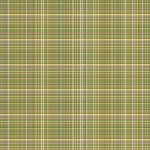 Cozy Artichoke Green Woven Plaid