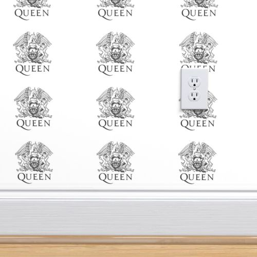 Wallpaper Logo Queen