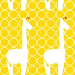 Circus Tower - Giraffe Dot, Large Scale