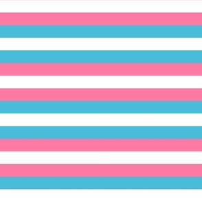 Trans Pride Stripes (brighter)