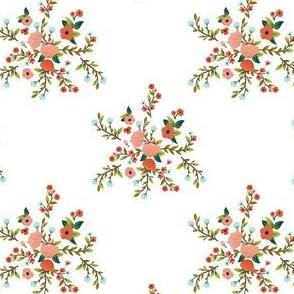 """4"""" Sloths Love Pink Florals / MIX & MATCH"""
