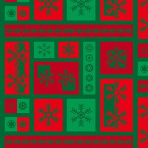 Squared Frosty Mod Red Green