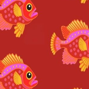 ORANGE MIKIMUN FISH