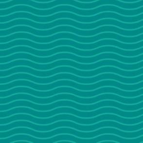 Gentle waves dark