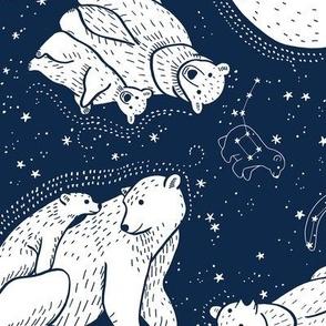 Polar Bear and Constellation