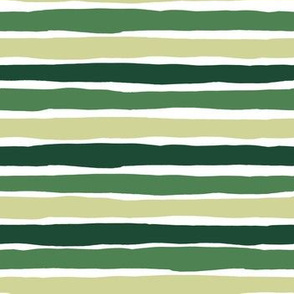 "7"" THREE SHADES OF GREEN STRIPES / SLOTHS LOVE PINK MIX & MATCH PRINT"