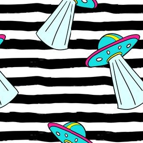 """6"""" Out Of This World Spaceship - Stripes"""