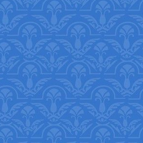 17-06K Blue Damask Small