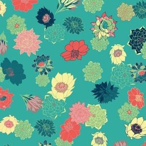 Succulent Florals