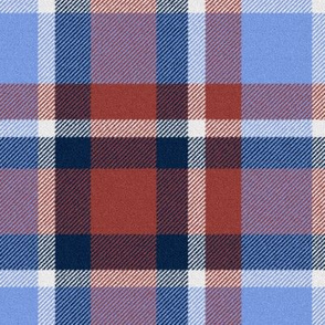 School Mixer ~ Traditional Plaid Faux Flannel ~ Roxie, Harp,  Johanna,  Starboard
