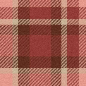 School Mixer ~ Traditional Plaid ~ Faux Flannel ~ Moxie,  Rougir,  Wood Island Road,  Avonlea