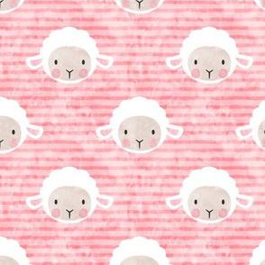 little lamb - pink