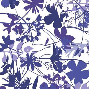 smoky purple graphic mirror lg