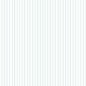 Pin Stripe pinstripe Mint Green Aqua on white