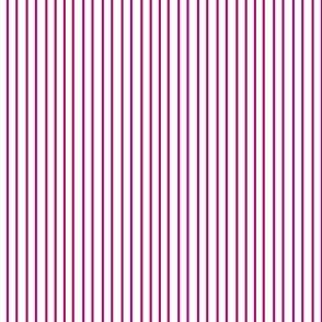 Pin Stripe pinstripe magenta hot pink on white