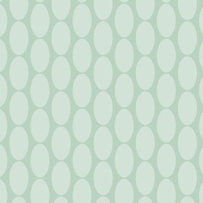 16-23E Mint Sage Aqua Green Gray Grey Large Polka Dot Oval Home Decor  Retro Christmas Spots Drops  _ Miss Chiff Designs