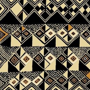 African - Kuba Tan Black