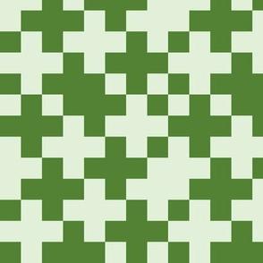 Green Cross on Green Digital