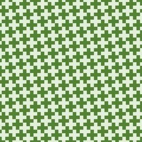 Green Cross on Light Green