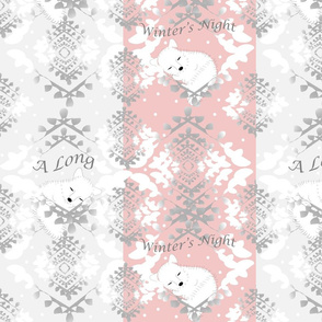 Artic Foxes Lullaby-Pink & Precious