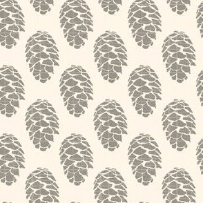 Autumn Fall Taupe Pine Cone Texture