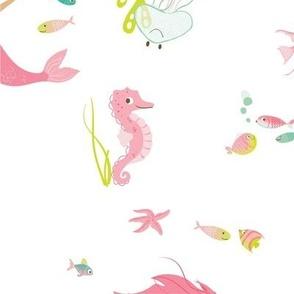 Aquatic Friends_Mermaid