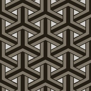 Bamboo Weave Large -  Grey