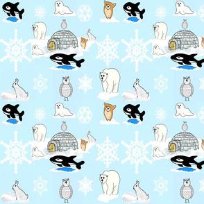 Arctic Snow Friends_1