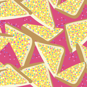 Fairy Bread on Pink