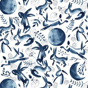 Delivery by Moonlight | Indigo Bunnies