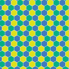 Honeycomb Multicolor Cornflower