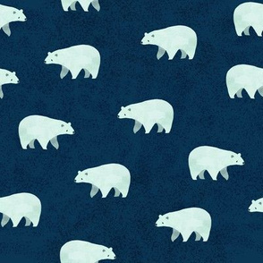 Cozy Polar Bears