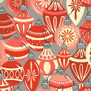 Ornaments Red - Mushroom
