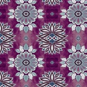 MINI Moroccan Floral - amethyst