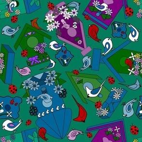 A Party of Birds #2