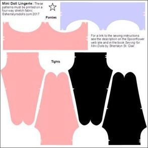 Mini Doll Knit Fabric  Lingerie