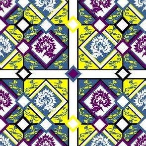 Spanish Designs Challenge Custom Fabric