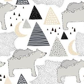 Polar bears on North