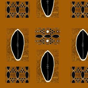 mud cloth-Into Africa Collage - jasper