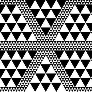07093426 : disruptive diamonds : black + white