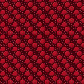 Pomegranates on Red