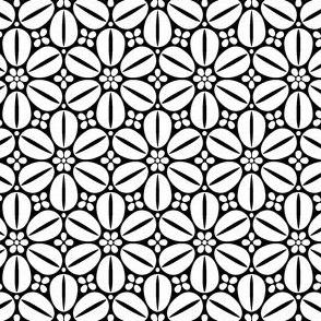 07094014 : R6cowrie : black + white
