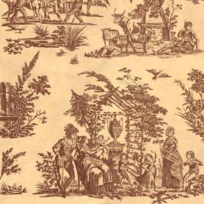 Marseilles Toile ~   Inheritance on Parchment