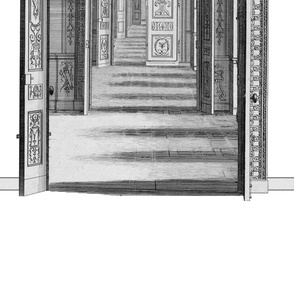 Trompe L'oeil ~  Tuilleries Door