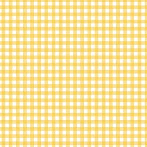 Honey Yellow Gingham