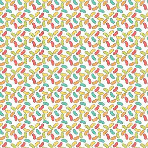 Rainbow Jellybean Pattern