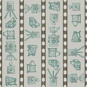 Vintage Cameras // Old Wild West Antique Film Cameras Negative Strip