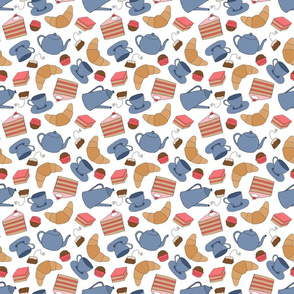 Tea at the Bakery Pattern